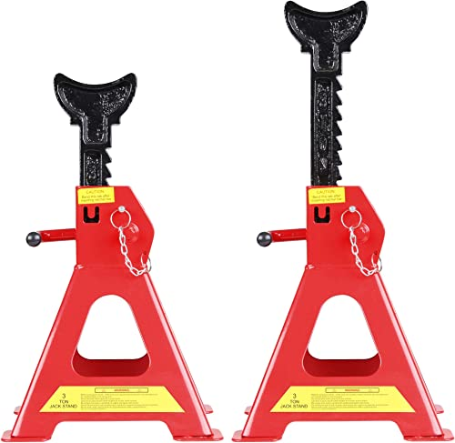 popular CARTMAN Double Locking Jack discount Stands with Safety Pin, outlet online sale 3 Ton Capacity, 1 Pair sale