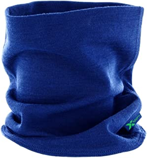 Woolx Unisex Merino Wool Neck Gaiter For Men & Women - Warm and Soft