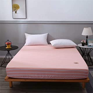Easy Care Plain Fleece Fitted Sheet, Bedding Accessory, Soft & Cosy Bed Linen, Double Size Bedsheet,180x200cm+20cm