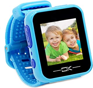 Pussan Kids Smart Watch for Boys Kids Toddler Watch Toys for 3-10 Year Old Boys Kids Smartwatch Multi-Function Game Watch with Camera USB Charging Best Toy Christmas Birthday Gifts for Kids Blue
