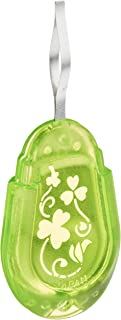 CLOVER 8611 Needle Threader for Embroidery Needles-Apple Green
