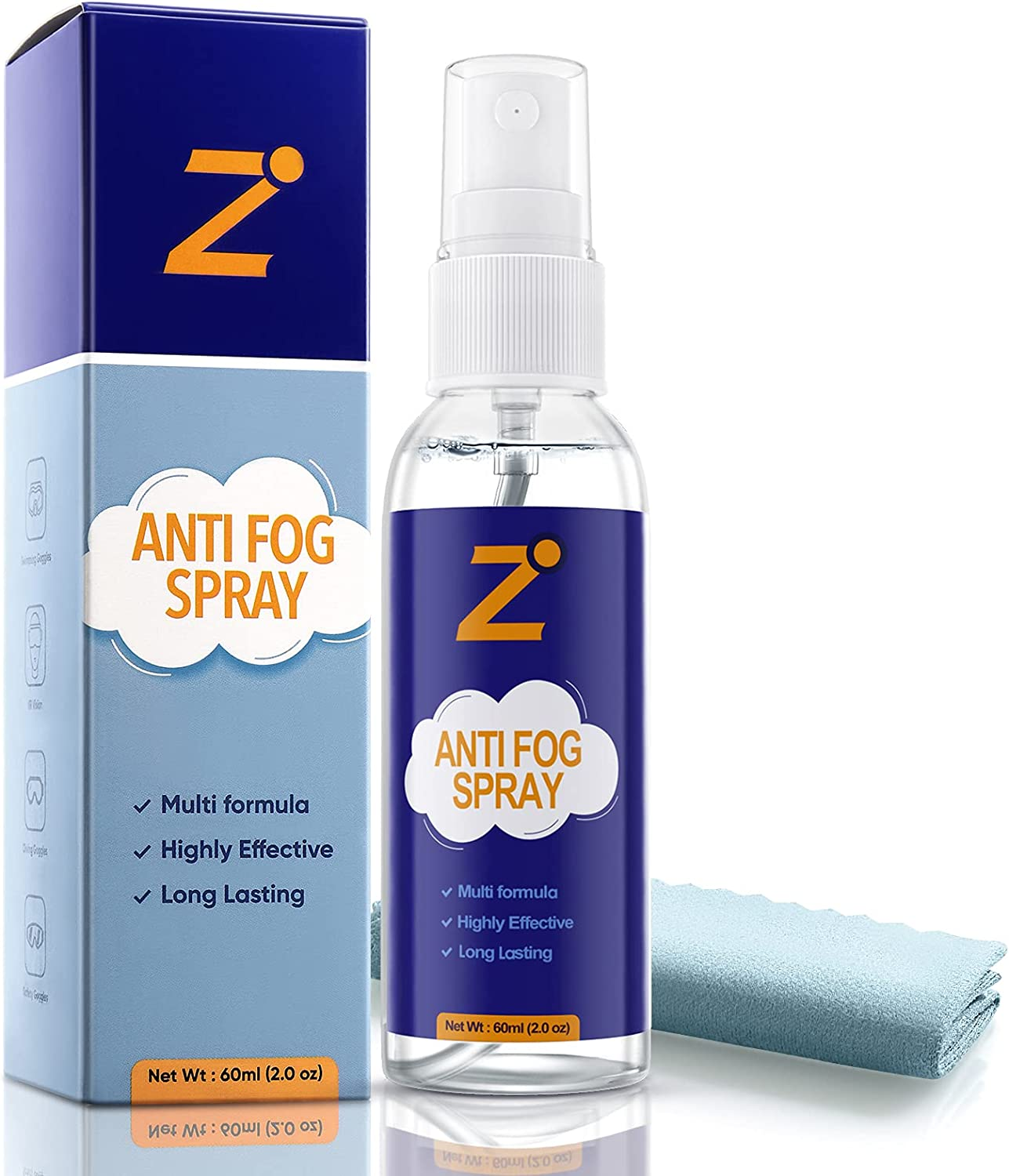 Anti Fog Spray for Glasses Non-Anti 2oz Reflective No Our shop most popular Super beauty product restock quality top L