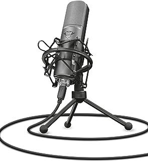 Trust GXT 242 Lance Duraksız iletimli mikrofon, Siyah