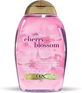 OGX Heavenly Hydration Cherry Blossom Shampoo, 13 Ounce (Pack of 6)
