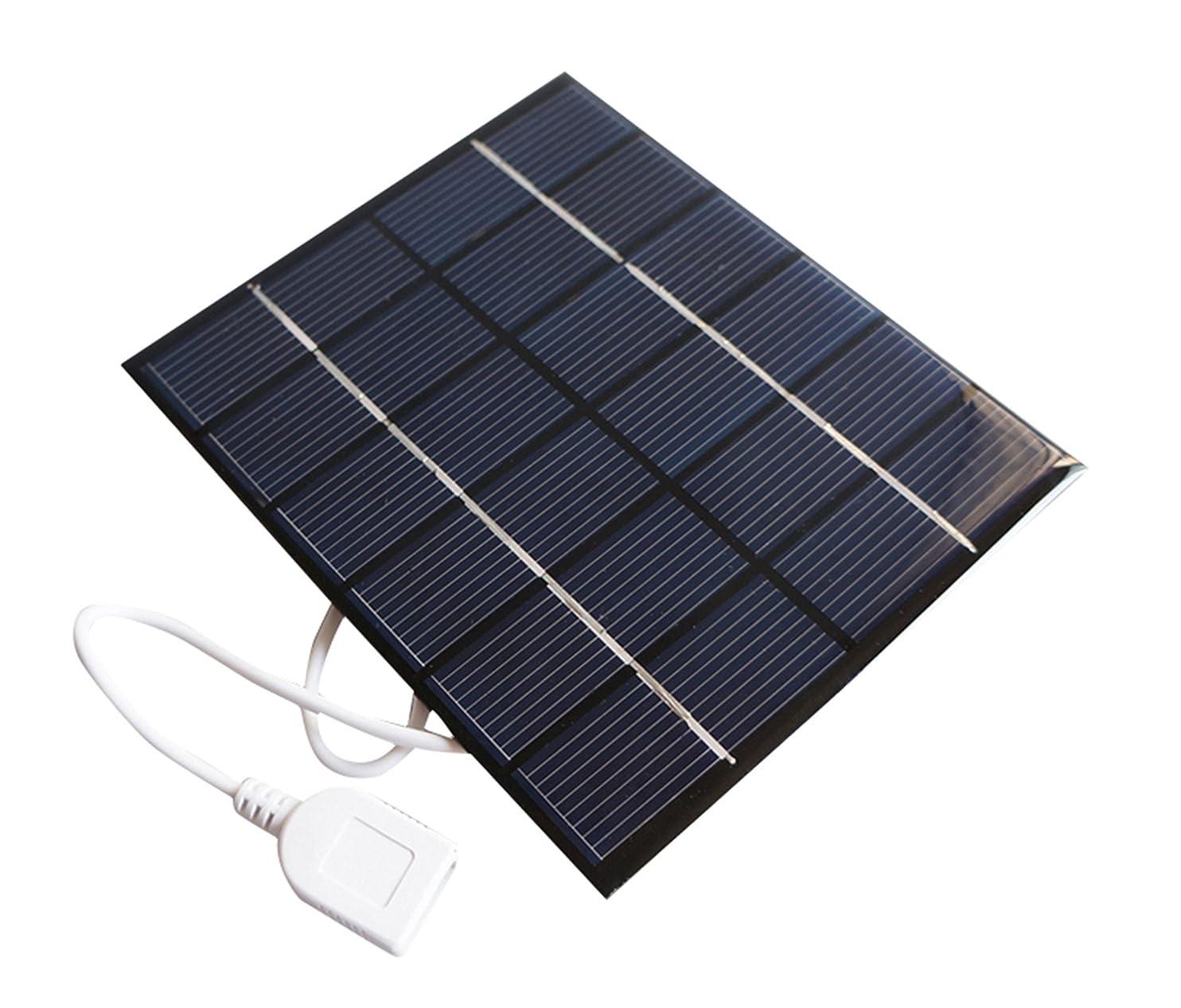 Sunnytech 2w 6v USB Mini Solar Panel Module DIY Polysilicon Solar Epoxy Cell Charger B032 ijcxzijfggo12