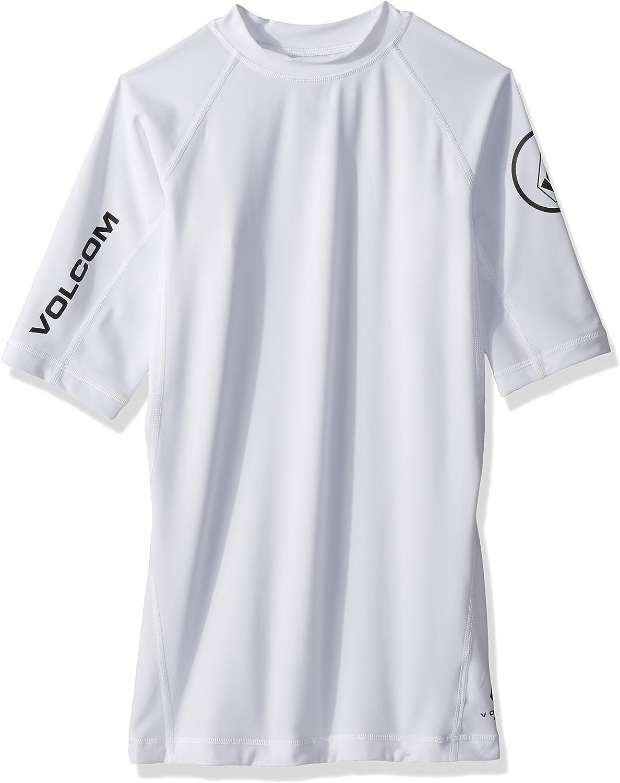 Volcom Men's Lido Lido Lido Solid Short Sleeve Rashguard B072LWCWS1  Elegant f27516