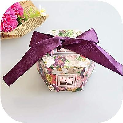 Amazon.com: QIUHUAXIANG - Caja de regalo para bodas, cajas ...