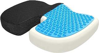 Gel Enhanced Seat Cushion Non-Slip Orthopedic Memory Foam Coccyx Cushion Tailbone Pain Office Chair Car Seat Cushion
