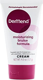 DerMend Moisturizing Arnica Montana Bruise Cream: Vitamin K Moisturizer Formula to Reduce The Appearance of Bruising - Restore, Rejuvenate & Repair Thin, Bruised Skin on Arms, Legs & Hands - 4.5 Oz
