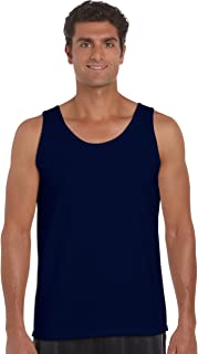 daef8e5718907f Gildan 2200- Classic Fit Adult Tank Top Ultra Cotton - First Quality - Navy  -