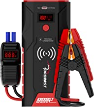 ROOBOOST™ UPGRADED 1500A Peak Ultra-Safe Car Jump Starter (Up to 7L Gas and 5L Diesel) with Digital Display, Wireless Phon...