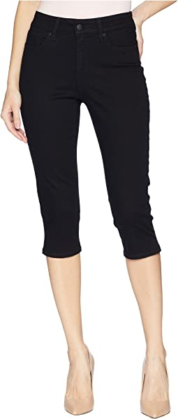 Skinny Capris in Black