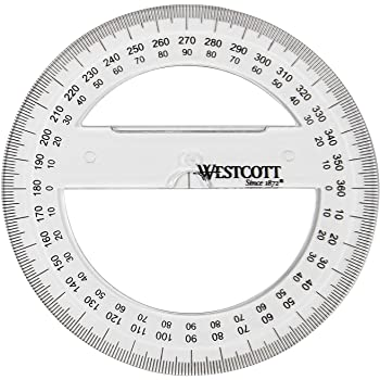 and Protractor 180 Degree Clear Measuring Tools 12 Inches and 6 Inches 4 Inch and 6 Inch SourceTon Plastic Straight Ruler Set of 4