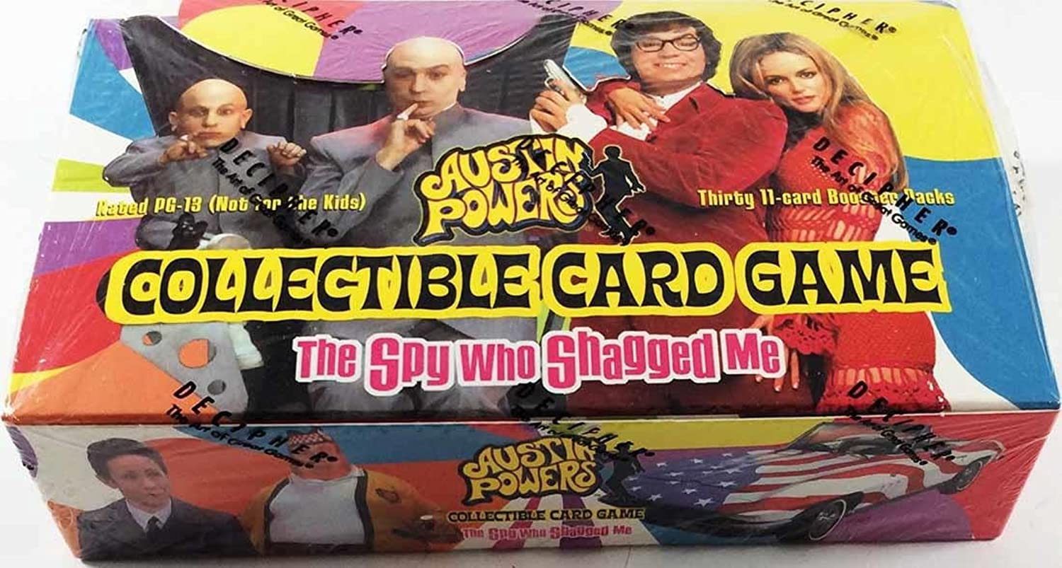 Austin Powers Card Game Thirty 11Card Booster Packs