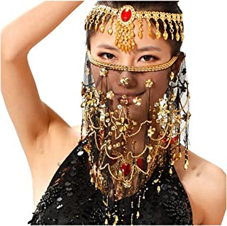 Best gold chain mask Reviews
