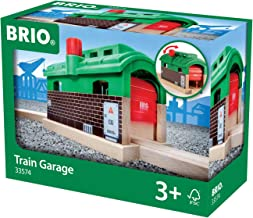 BRIO World - 33574 Train Garage | Toy Train Accessory for Kids Age 3 and Up