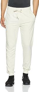 Jockey Plain Sports Track Pants for Men - Cream Melange,M
