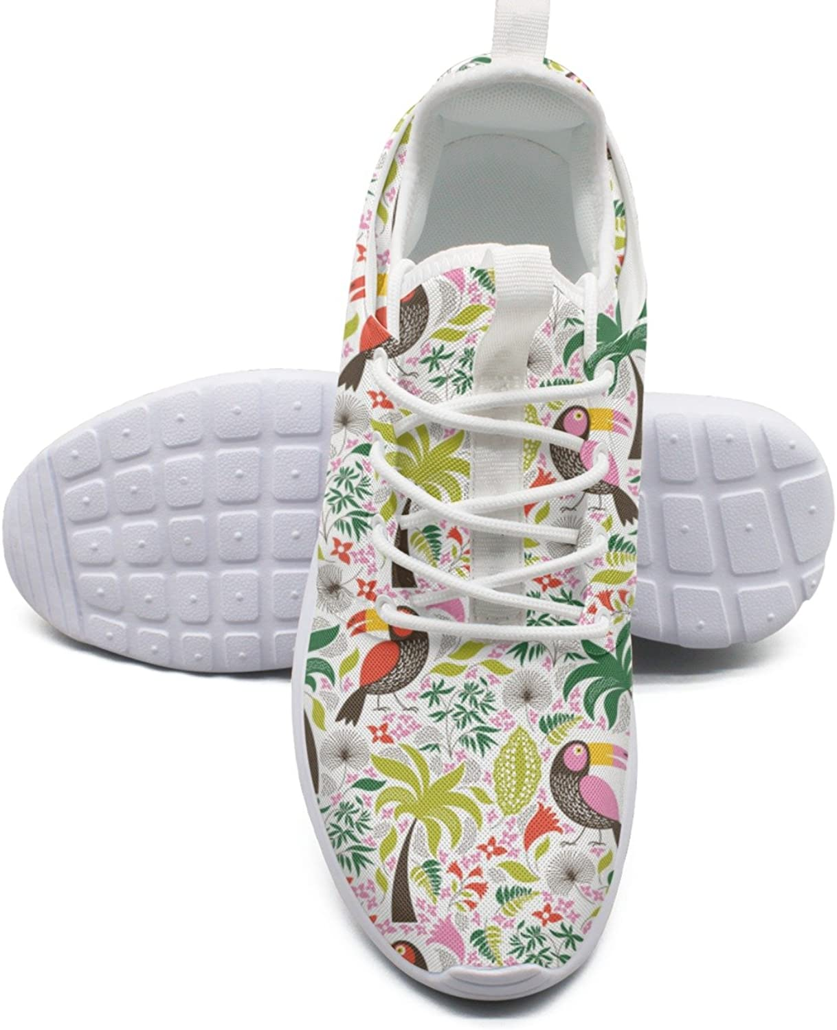 Exotic Birds Womens Running shoes Wide Width