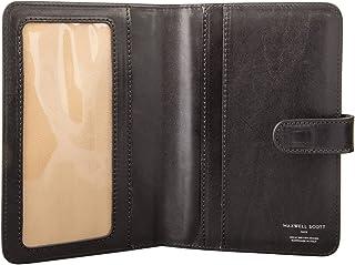 Maxwell Scott® personalizzato-Cartella portadocumenti a portafoglio da viaggio in pelle (Vieste)