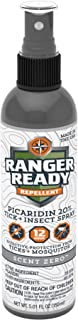 Ranger Ready Insect Repellent with 20% Picaridin Mist Spray Bottle, Scent Zero, 5 Ounce