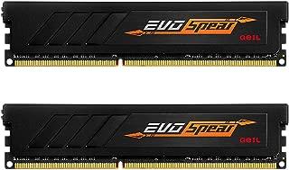 GeIL 16GB (2 x 8GB) AMD Edition EVO SPEAR DDR4 PC4-19200 2400MHz Desktop Memory Model GASB416GB2400C16DC