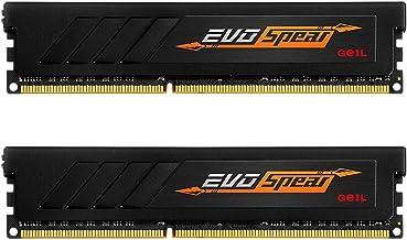 GeIL 16GB (2 x 8GB) EVO Spear DDR4 PC4-24000 3000MHz 288-Pin Desktop Memory Model GSB416GB3000C16ADC