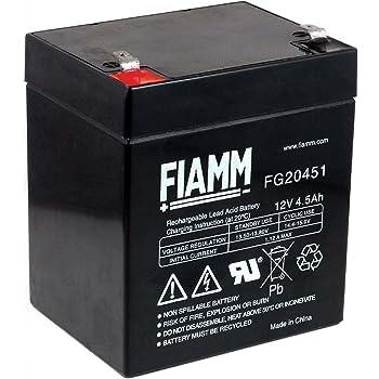 Batterie au Plomb AGM 5 Ah 12 V.: : High tech