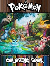 Pokemon Coloring Book: 77 Illustrations, Amazing Jumbo Pokemon Coloring Book For Kids Ages 3-7, 4-8, 8-10, 8-12, Pikachu, Fun, Largest Book 2020 (Pokemon Books For Kids) PDF