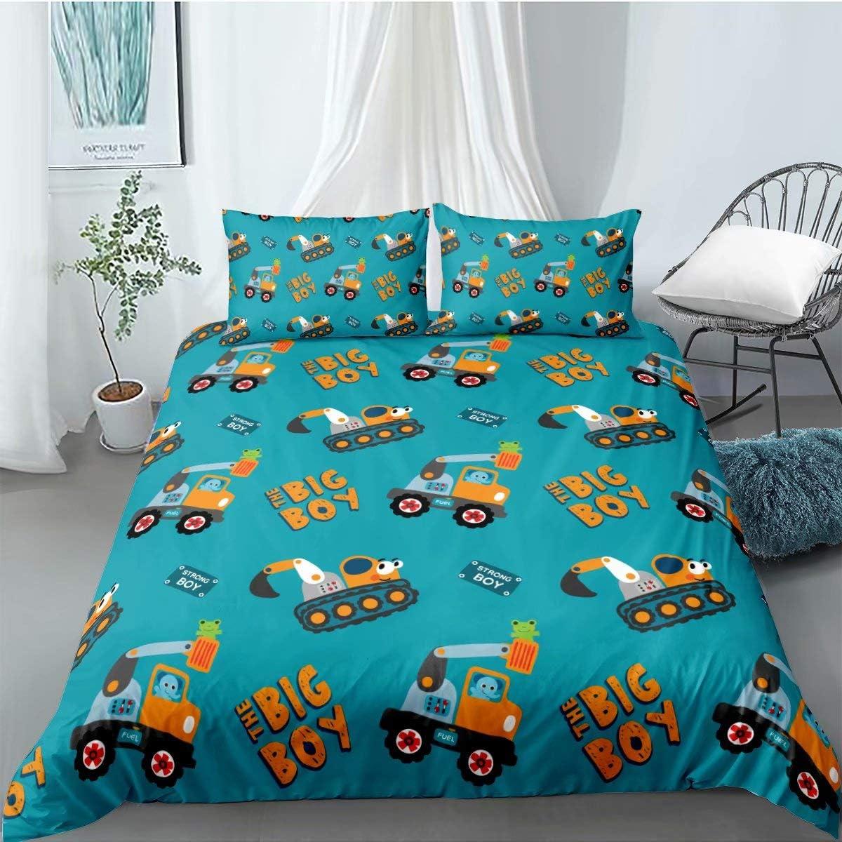 Car Duvet Cover Bedding 18%OFF Set 半額 Quilt Size 3Pcs Full