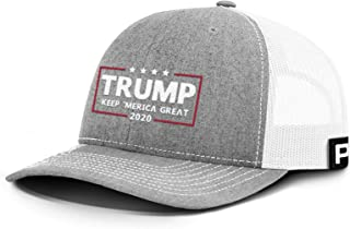 Printed Kicks Trump 2020 Hat, KAG 2020 Keep Merica Great Back Mesh Trump Hat