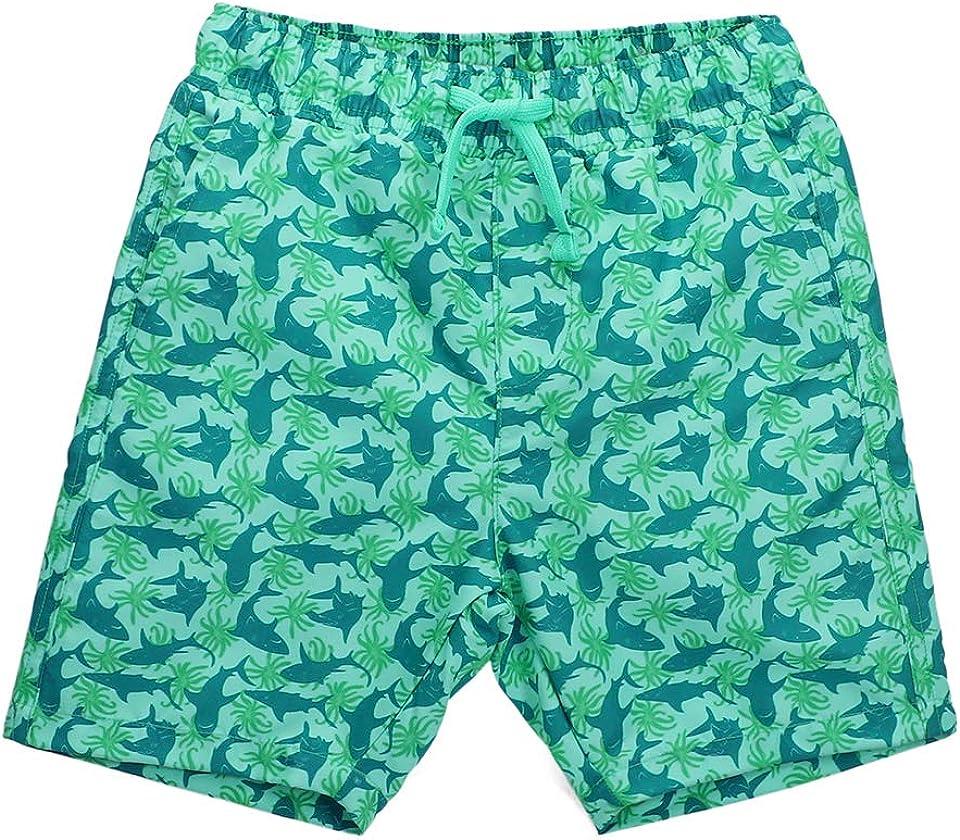 Kinder Badeshorts Jungen Casual Elastische Taille Badehose Kleinkind Strand Schwimmen Shorts