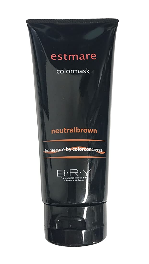 伝統しかしながら注目すべきBRY(ブライ) エストマーレ カラーマスク Neutralbrown ニュートラルブラウン 200g
