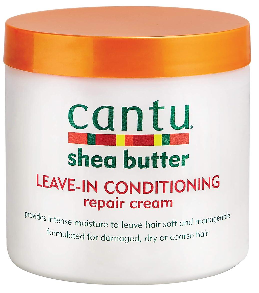 ジャーナル保守可能ハンマーcantu shea butter leave in conditioning repair cream 473 ml