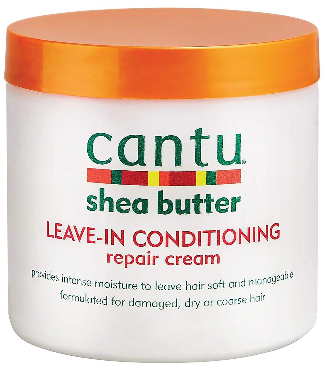 大西洋ピッチハイブリッドcantu shea butter leave in conditioning repair cream 473 ml