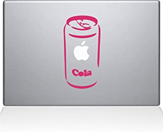"The Decal Guru 0061-MAC-13X-BG Apple Cola Vinyl Sticker, 13"" MacBook Pro (2016 & Newer), Pink"