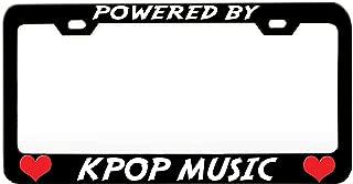 Best kpop license plate frame Reviews