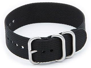 Helm Watches NS1 Nylon Watch Strap - Black