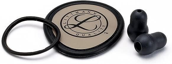 3M Littmann Stethoscope Spare Parts Kit, Lightweight II S.E., Black, 40020
