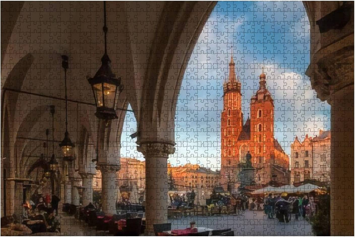 Jigsaw Puzzle Krakow Poland December Saint Basili 2017 Mary's Outlet ☆ Free Shipping 27 Direct stock discount