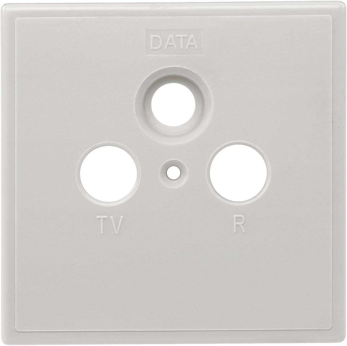 Axing Szu 2 01 Steckdosen Abdeckung Einteilig Tv R Elektronik