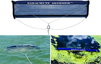 Parachute Skimmer - Algae and floating Weed, Duck Weed Collector Skimming Rake Net Style Tool for Lake & Pond