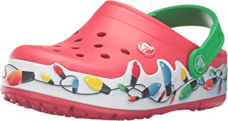 crocs crocslights 节日洞洞鞋(幼儿/小童)