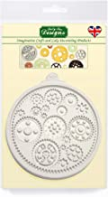 Cogs and Wheels Embellishment Silicone Mold for Cake Decorating, Cupcakes, Sugarcraft, Candies and Clay, Food Safe
