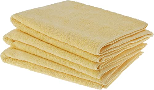 AmazonBasics Thick Microfiber Cleaning Cloths (Pack of 3)