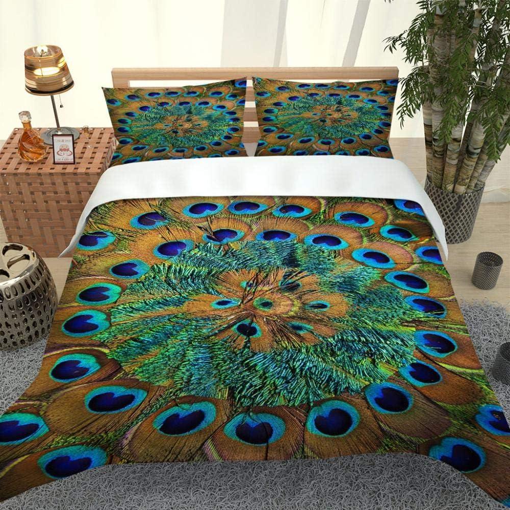 DRFQSK Bed Set King Comforter Cover Alternative dealer Shams 3D 2 Seattle Mall Pillow with