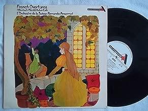 ADD 192 French Overtures Suisse Romande Ernest Ansermet vinyl LP