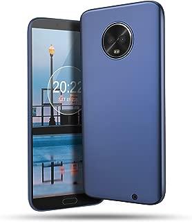 BELK Funda Moto G6 Plus, Funda Ultra Fina, Resistente a los arañazos, Cubierta Premium Protectora para PC, con Revestimiento de Acabado Mate para Motorola Moto G6 Plus 2018, Azul