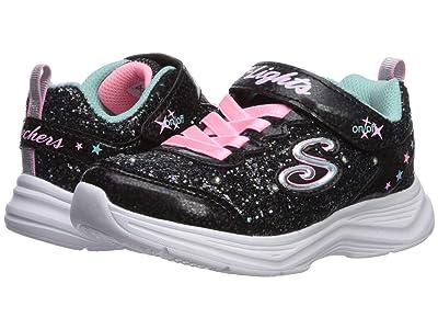 SKECHERS KIDS Sport Lighted Glimmer Kicks 20267L (Little Kid/Big Kid) (Black/Pink) Girl