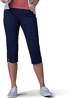 LEE Women's Sculpting Slim Fit Pull-on Vent Hem Skimmer Pant