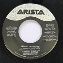Taylor Dayne 45 RPM Heart of Stone / Wait for Me